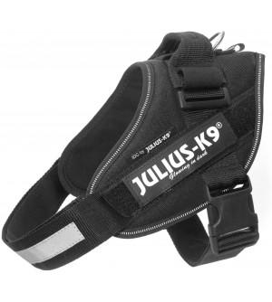 Julius-K9 IDC petnešos šunims, juodos