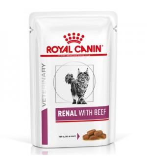 Royal Canin VD Feline Renal beef pouch