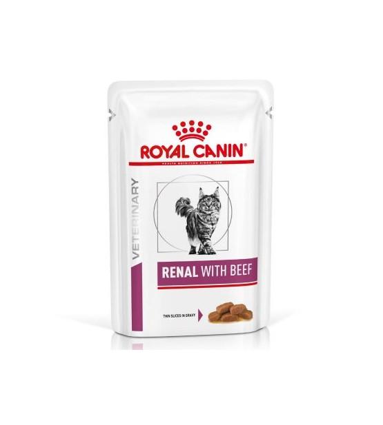 Royal Canin VD Feline Renal beef pouch