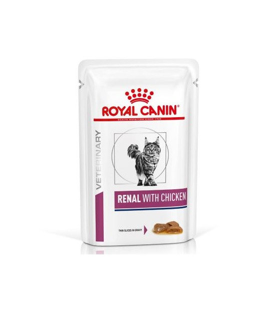 Royal Canin VD Feline Renal chicken pouch