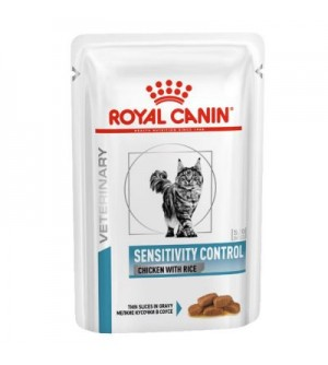 Royal Canin VD Feline Sensitivity Control Chicken konservai