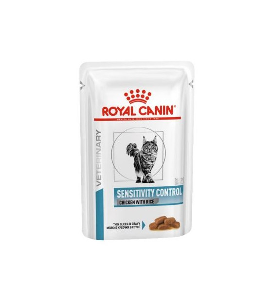 Royal Canin VD Feline Sensitive Control Chicken 100g