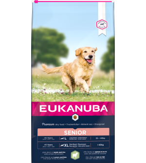 Eukanuba Senior L / XL Lamb and Rice