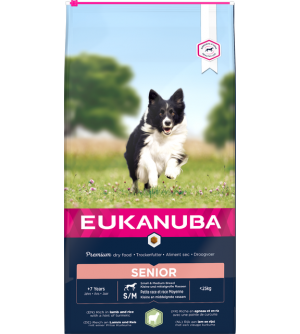 Eukanuba Senior S / M Lamb and Rice