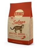 Araton Cat Adult Salmon sausas maistas katėms