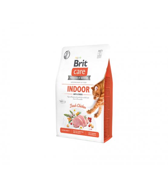 Brit Care Cat GF Indoor Anti-stress sausas maistas katėms