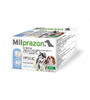 Milprazon 2,5 mg/25 mg šunims ir šuniukams, N1