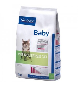 Virbac Cat Pre Neutered Baby