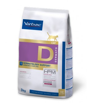 Virbac Cat Dermatology Support