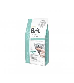 Brit GF Veterinary Diets Cat Struvite sausas maistas katėms
