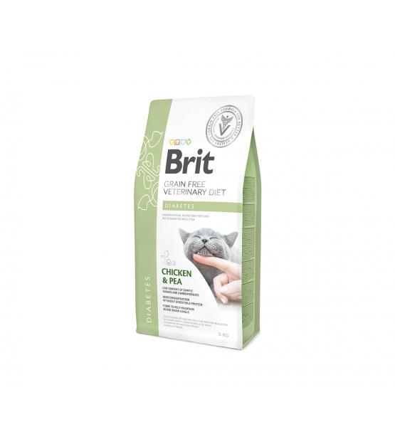 Brit GF Veterinary Diets Cat Diabetes sausas maistas katėms