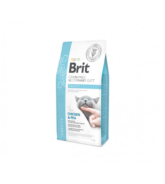 Brit GF Veterinary Diets Cat Obesity sausas maistas katėms