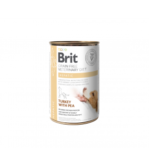 Brit GF Veterinary Diets Hepatic konservai šunims, 400g