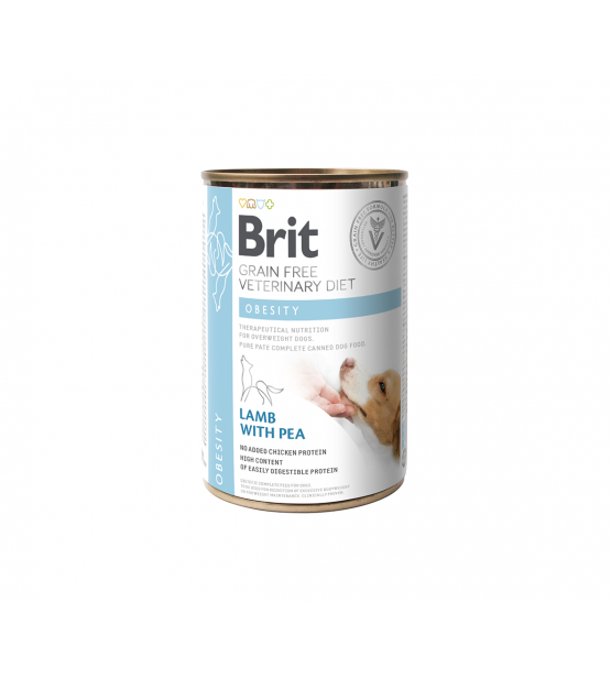 Brit GF Veterinary Diets Obesity konservai šunims, 400g