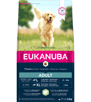 Eukanuba Adult Large Breed Lamb &amp Rice