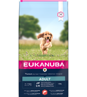 Eukanuba Adult S/M Salmon and Barley