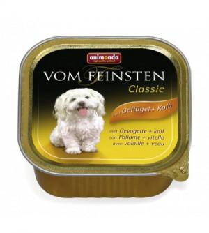 Vom Feinsten Classic konservai šunims su paukštiena ir veršiena
