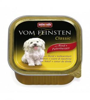 Animonda Vom Feinsten Classic konservai šunims su jautiena ir kalakutų širdimis