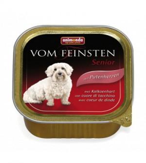 Vom Feinsten Senior konservai šunims su kalakutų širdimis