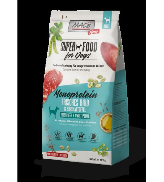 Mac's Dog Mono sausas maistas šunims su jautiena