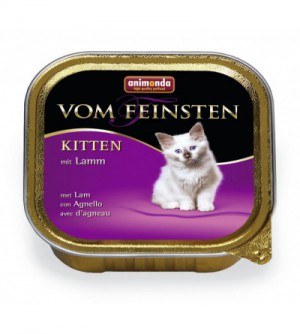 Vom Feinsten Kitten konservai katėms su ėriena