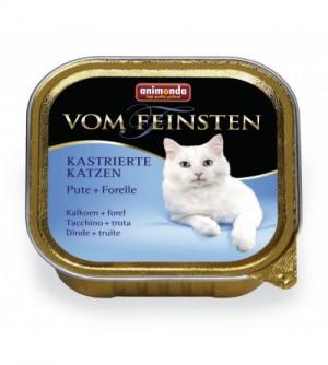 Vom Feinsten Light Lunch konservai katėms su kalakutiena ir upėtakiu