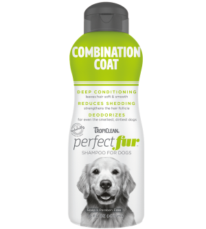Tropiclean PerfectFur Combination Coat šampūnas šunims, 473ml