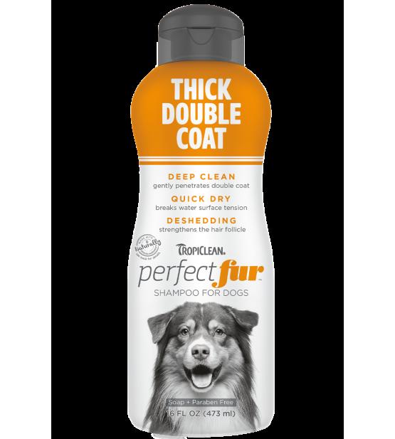Tropiclean PerfectFur Thick Double Coat šampūnas šunims, 473ml