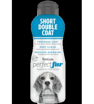 Tropiclean PerfectFur Short Double Coat šampūnas šunims, 473ml