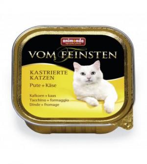 Vom Feinsten Light Lunch konservai katėms su kalakutiena ir sūriu
