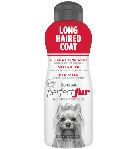 Tropiclean PerfectFur Long Haired Coat šampūnas šunims, 473ml