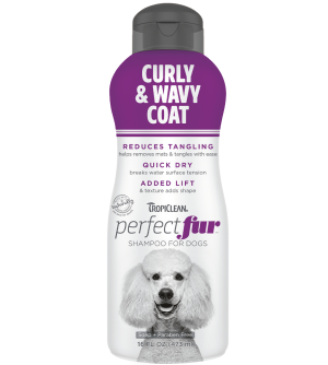 Tropiclean PerfectFur Curly & Wavy Coat šampūnas šunims, 473ml
