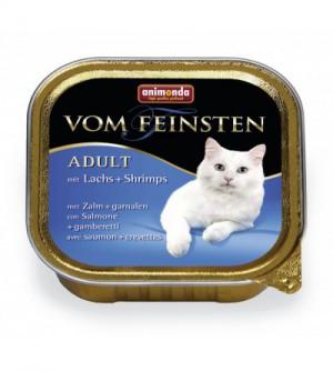Animonda Vom Feinsten Classic su Lašiša ir Krevetėmis
