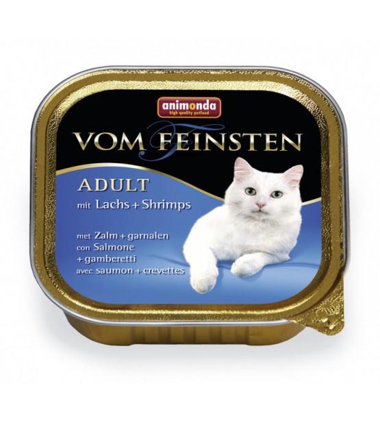 Vom Feinsten Classic konservai katėms su lašiša ir krevetėmis