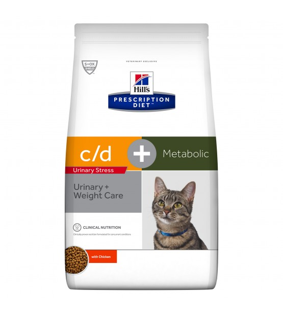 Hill's PD Feline c/d Urinary Stress + Metabolic