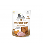 Brit Jerky Turkey Meaty Coins skanėstas, 80g