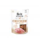 Brit Jerky Chicken Real Fillets skanėstas, 80g