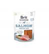 Brit Jerky Salmon Protein Bar skanėstas, 80g