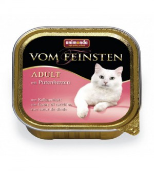 Vom Feinsten Classic konservai katėms su jautiena ir kalakutų širdimis