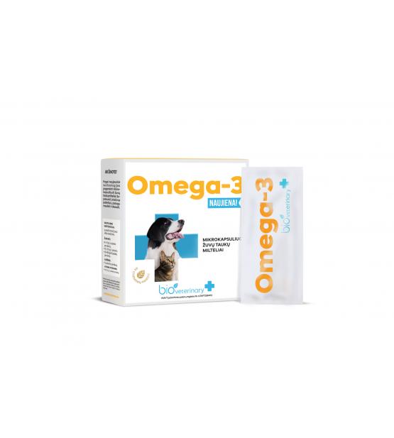 BioVeterinary Omega 3 maisto papildas augintiniams