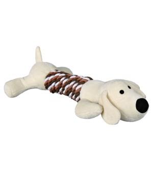 Trixie pliušinis šunų žaislas su virve