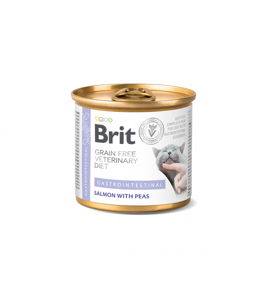 Brit GF Veterinary Diets Gastrointestinal konservai katėms, 200g