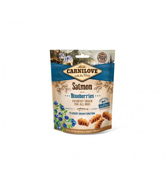 Carnilove Salmon and Blueberries skanėstai šunims 200g