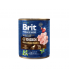 Brit Premium BY NATURE konservai šunims Chicken with Hearts