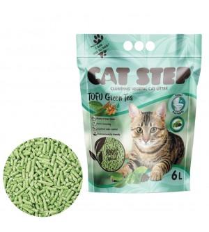 Cat Step Tofu Green Tea kraikas katėms su žaliąja arbata, 6L