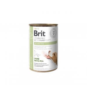 Brit GF Veterinary Diets Diabetes konservai šunims, 400g