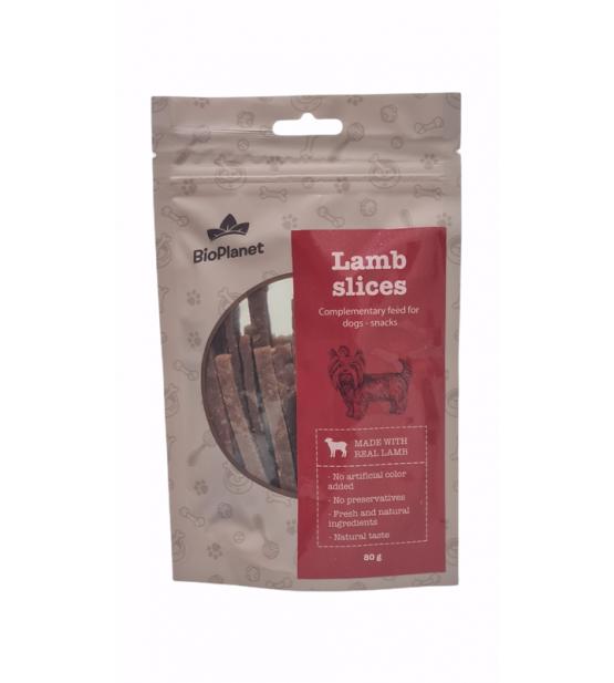 BioPlanet Snack Lamb Slice skanėstas šunims 80g