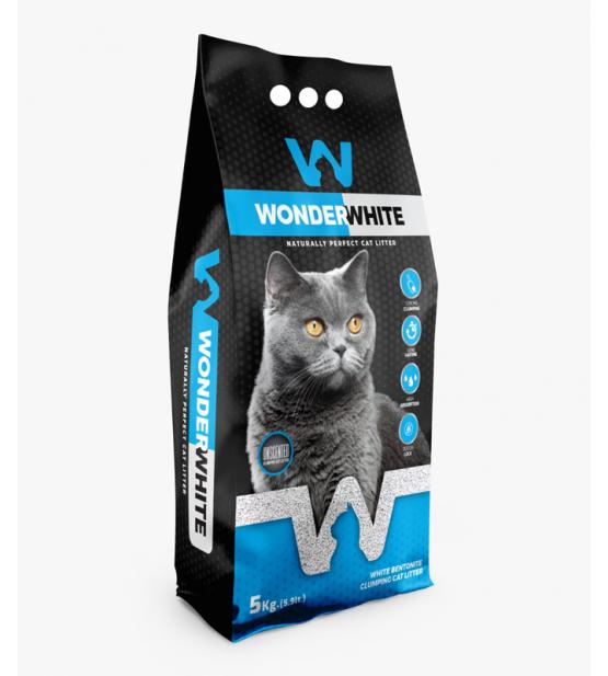 Wonder White Natural bentonitinis kraikas katėms