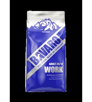 Bavaro Work sausas maistas šunims, 18kg