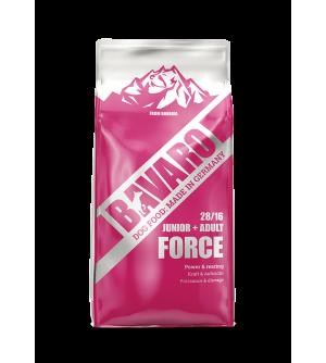 Bavaro Force sausas maistas šunims, 18kg
